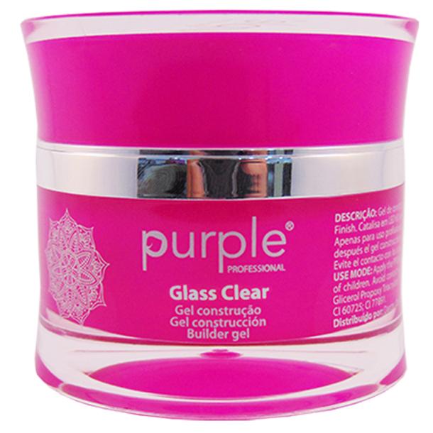 Glass Clear UV gel by Purple 15gram