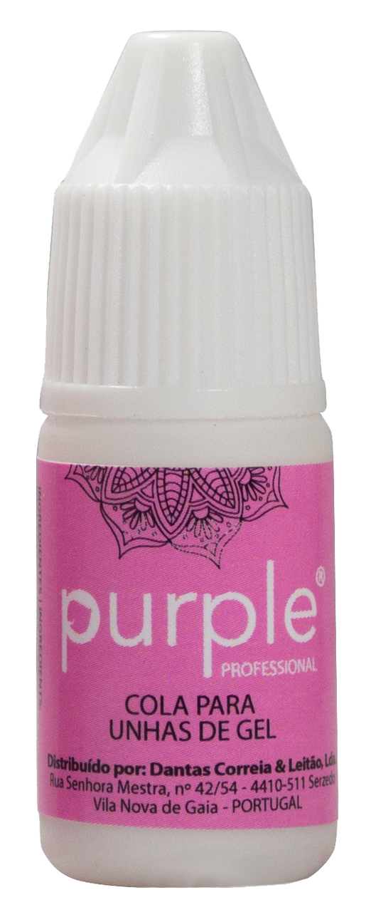 Purple Nail Glue 3gr