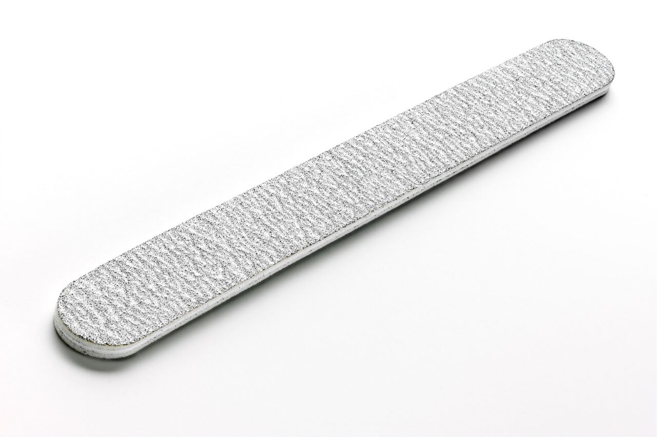 Nail File - Zebra 100/180 Grit
