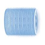 Velcro Rollers Lge Lt/Blue Pk6