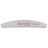 Purple Nail File Moon 180/220