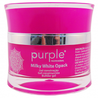 Milky White Opack UV gel by Purple 30gram