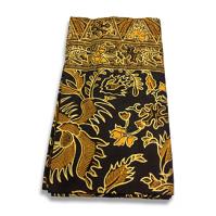 Batik Sarong Brown and Orange