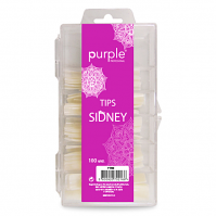 Nail Tips Sidney By Purple CX pack 100