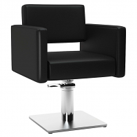 Dora Inox Styling Chair Black