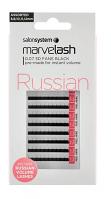 Russian Fan Lashes 0.07 Black