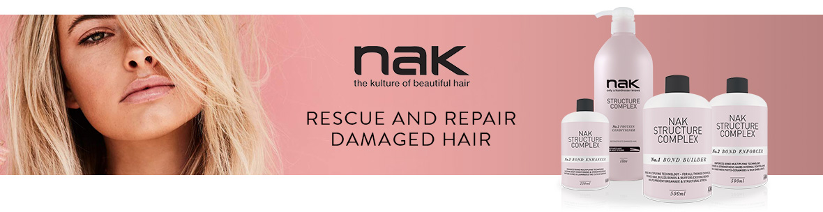 Nak Structure Complex. Rescue and repair damaged hair