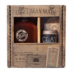 18.21 Gift Set Man Made Wash & Clay | Sweet Tobacco