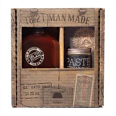 18.21 Gift Set Man Made Wash & Paste | Sweet Tobacco