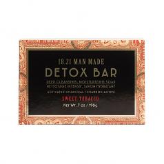 18.21 Detox Soap Bar   Sweet Tobacco