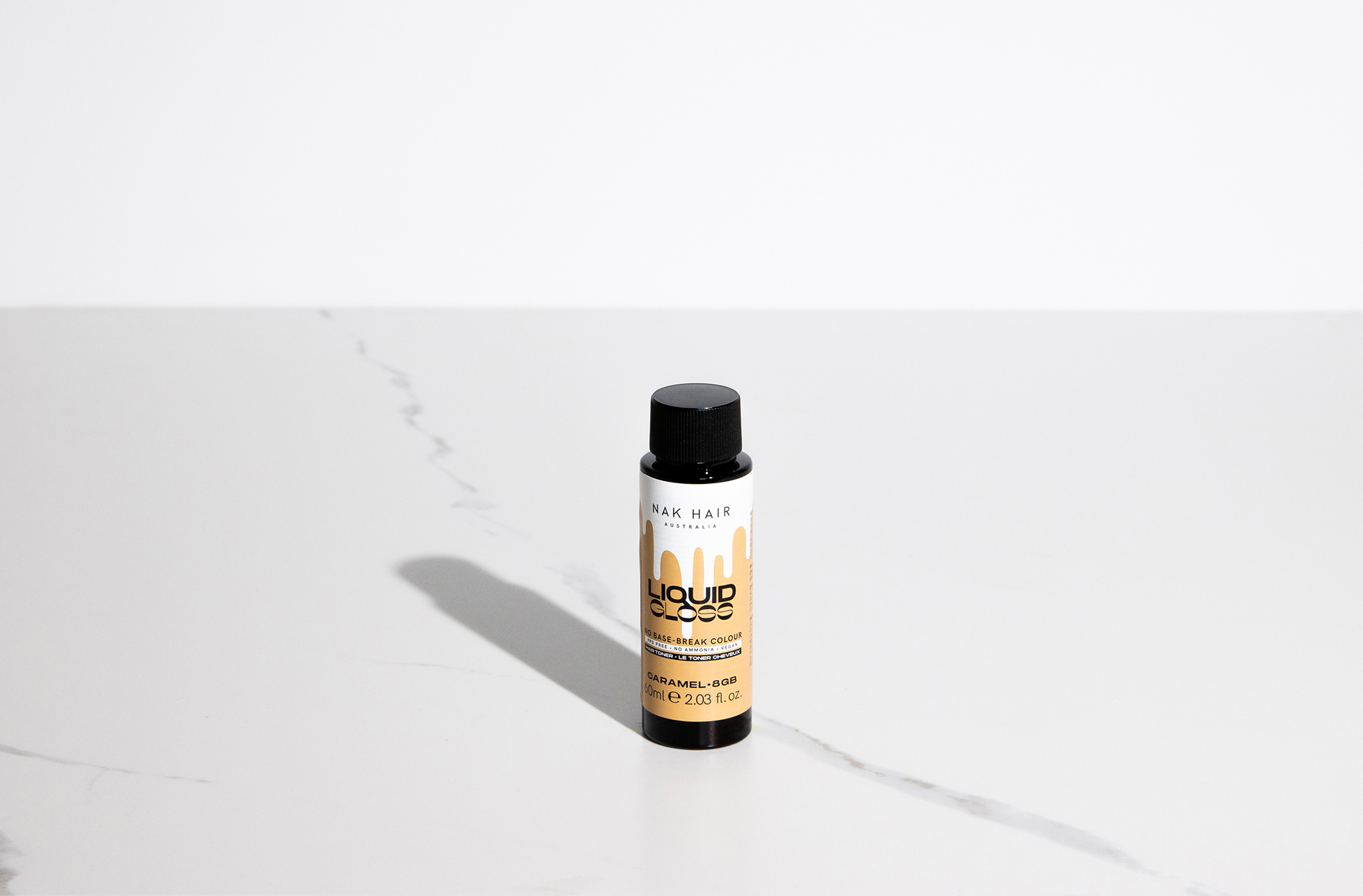 NAK Liquid Gloss Caramel 60ml