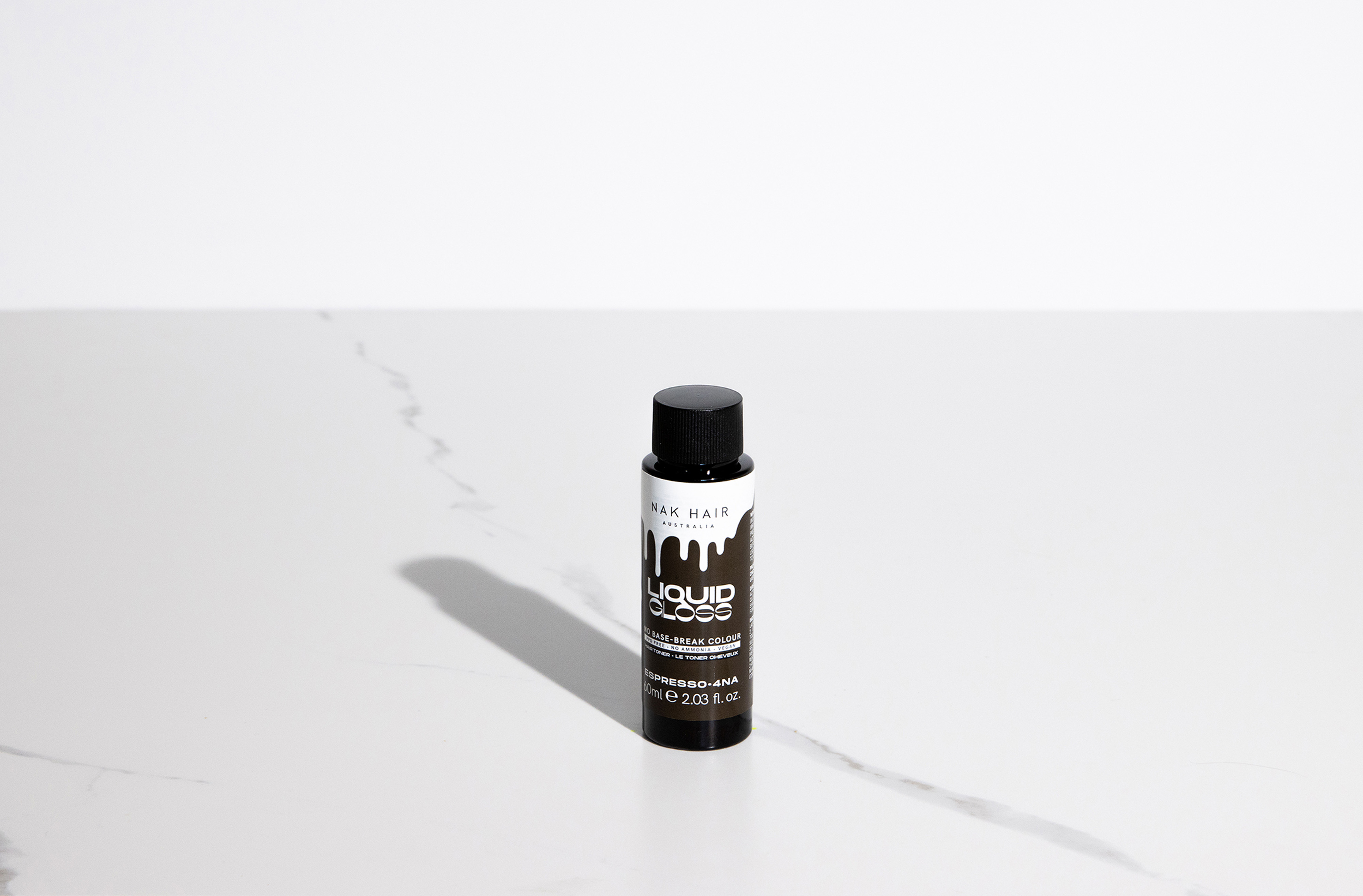 NAK Liquid Gloss Espresso 60ml