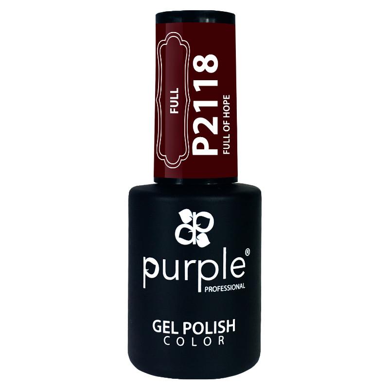 Purple Gel Polish Full Of Hope 10ml