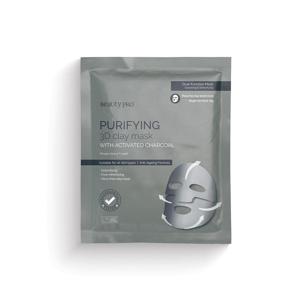 BeautyPro Purifying 3D Clay Mask 18g