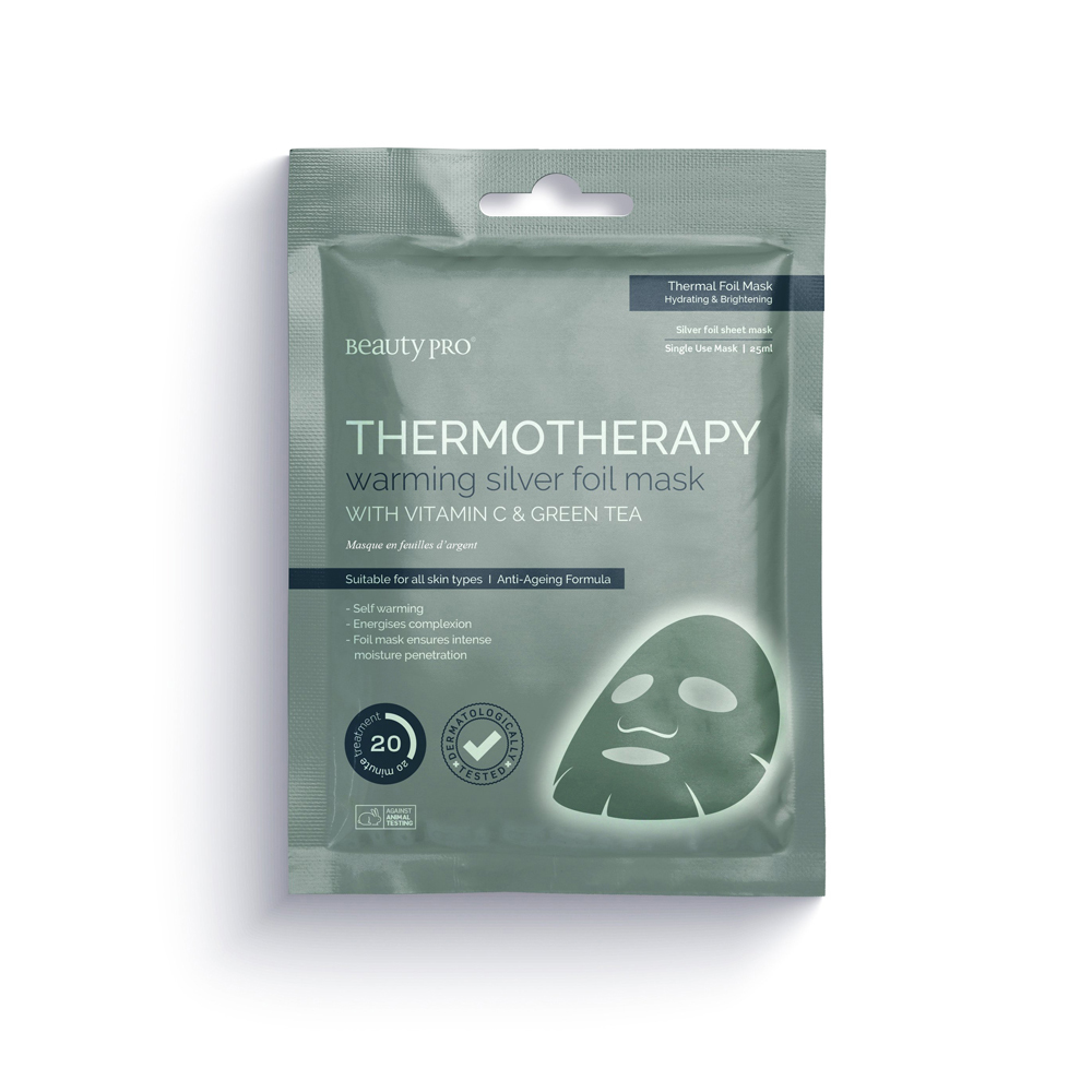 BeautyPro Thermotherapy Silver Foil Mask