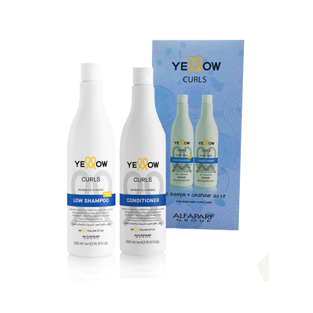 Yellow Curl Duo Pack