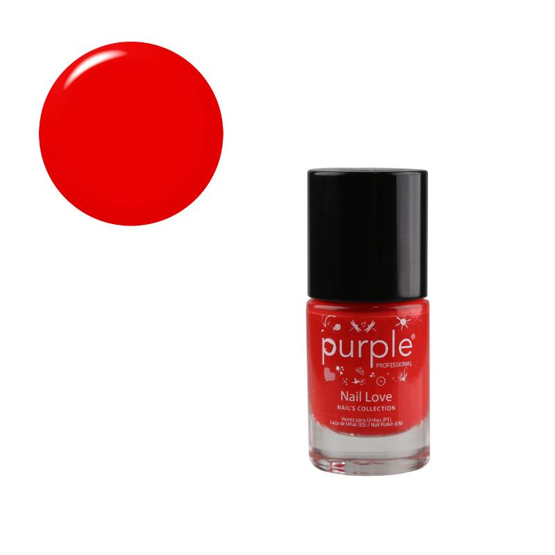 Purple Professional Nail Polish Nail Love N0135 10ml