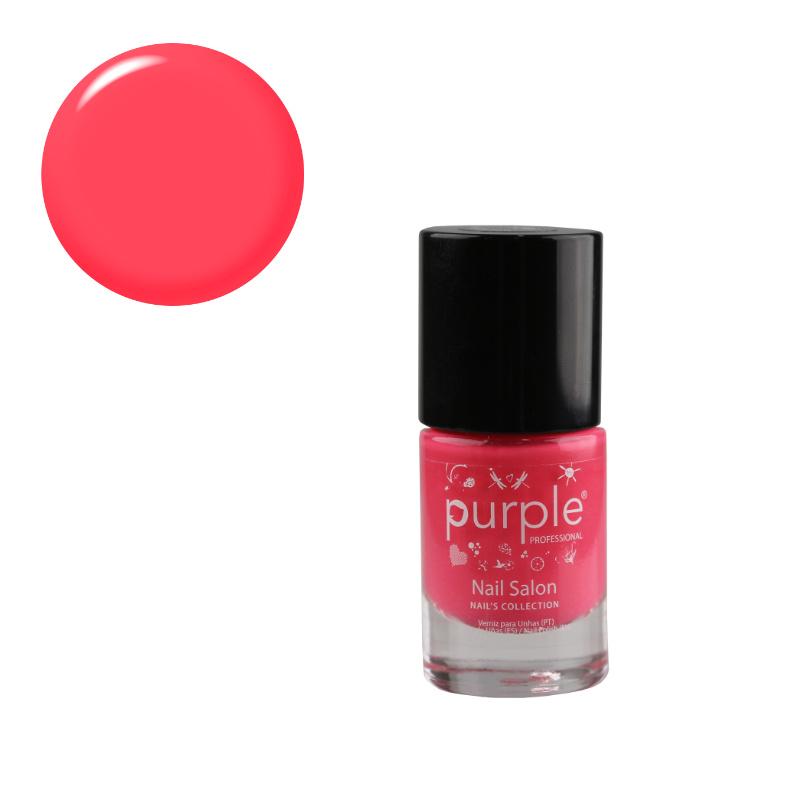 Purple Professional Nail Polish Nail Salon N0136 10ml