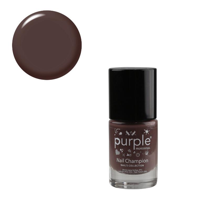 Purple Professional Nail Polish Nail Champion N0137 10ml