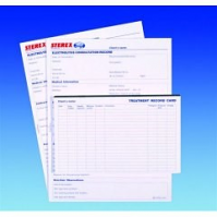Sterex Record Cards Pad of 50