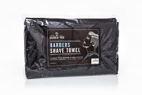 Barber Pro Shave Towel Blk 4pk