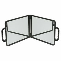 Salon Mirror (Double) Black