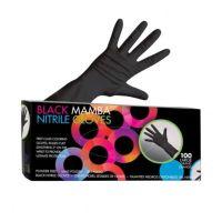 Framar Nitrile Gloves Black Large