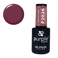 Purple Gel Polish Winter Mysteries Tree 10ml