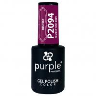 Purple Gel Polish Respect your Body 10ml