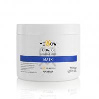 Yellow Curls Mask