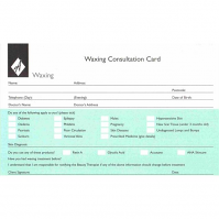 Waxing Record Cards (Pack of 100)