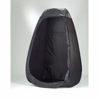 Spray Tan Cubicle - BLACK with extractor flap