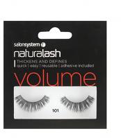 Salon Systems NaturaLash Volume 101 Black Natural