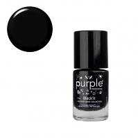 Purple Professional Nail Polish N018 Black It 10ml