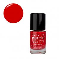 Purple Professional Nail Polish N024 I love You 10ml