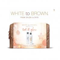 White to Brown Christmas set