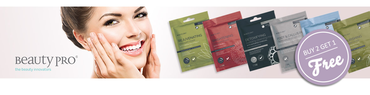 BeautyPro Masks on offer. Buy two and get one free